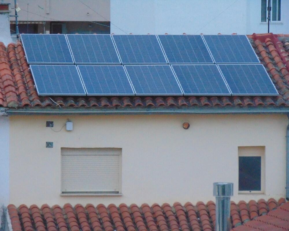 instalacion paneles solares en la safor
